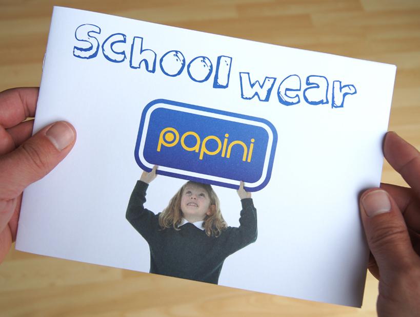 Papini Schoolwear booklet