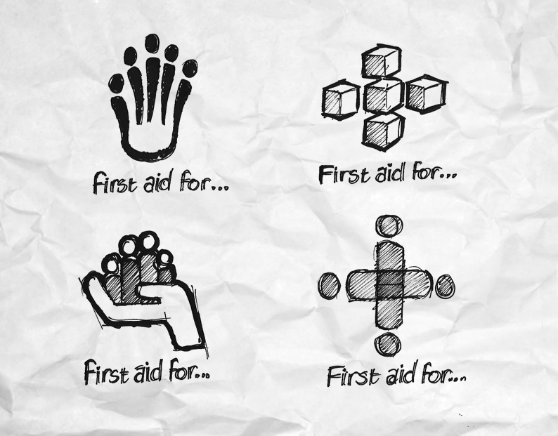 First Aid For Families, early concepts