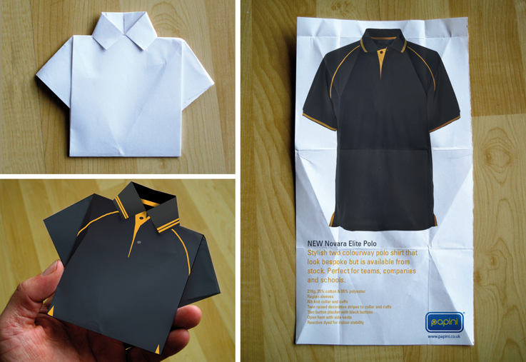 Origami Polo Shirt
