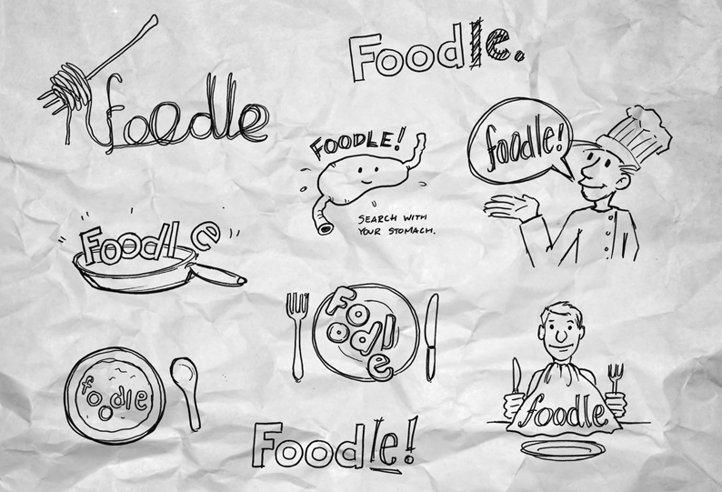 """Foodle"" logo"